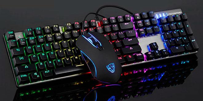 Resultado de imagen de Mouse y teclado gamer